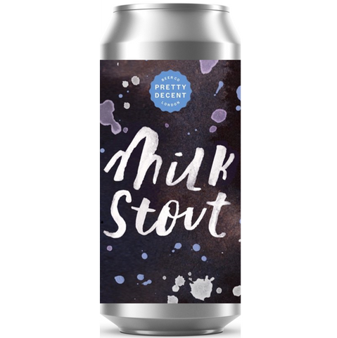 Pretty Decent Beer Co Milk Stout 440ml (4.7%)