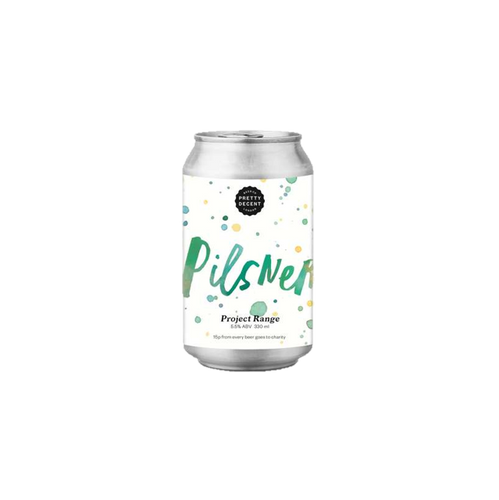 Pretty Decent Beer Co Pilsner Lager 330ml (5.5%)