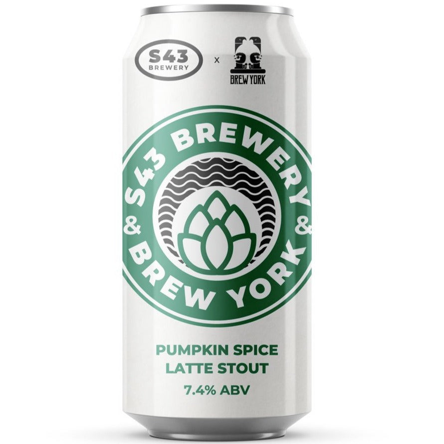 S43 x Brew York Collab - Pumpkin Pumpkin Dark Side - Pumpkin Spiced Latte Stout 440ml (7.4%)