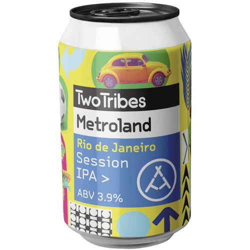 Two Tribes Metroland Rio de Janeiro Session IPA 330ml (3.9%) - indiebeer