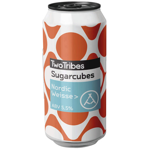 Two Tribes Sugarcubes Nordic Weisse 440ml (5.5%)