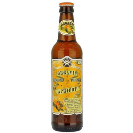 Sam Smiths Organic Apricot Fruit Beer 355ml (5.1%)