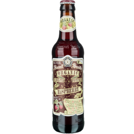 Sam Smiths Organic Raspberry Fruit Beer 355ml (5.1%)