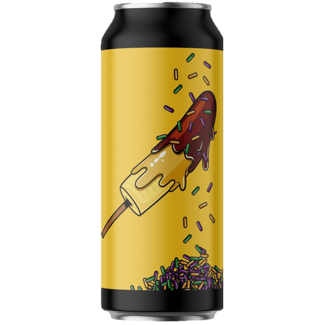 Seven Island Brewery Dulche De Banana Imperial Pastry Stout with Dulche Leche, Caramelised Bananas, Chocolate and Tahitian Vanilla 440ml (12%) - 1 can limit
