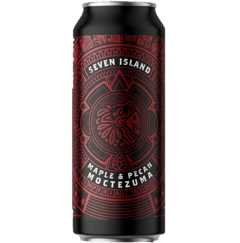 Seven Islands Moctezuma Pecan & Maple Imperial Stout 440ml (12%) - indiebeer