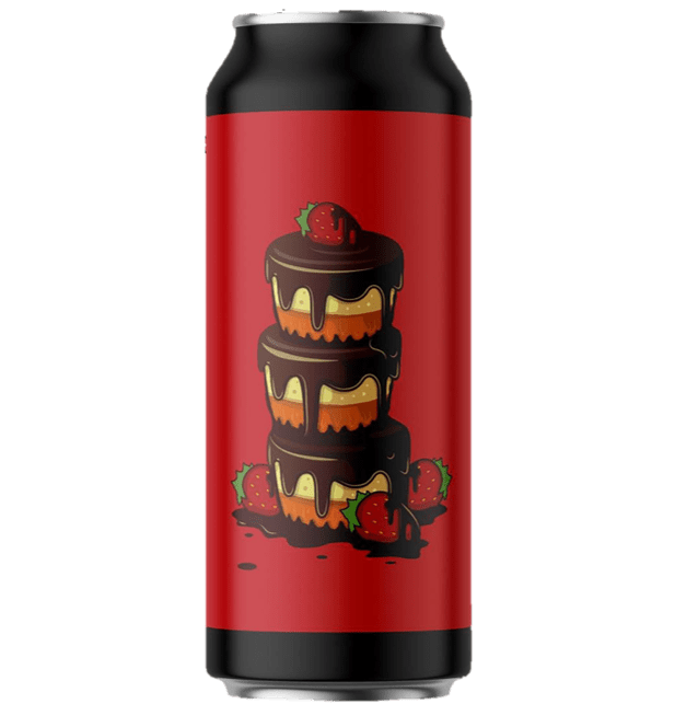 Seven Island Brewery PBJ Imperial Pastry Stout with Peanut Butter, Wild Strawberries, Chocolate & Tahitian Vanilla. 440ml (12%) - 1 can limit