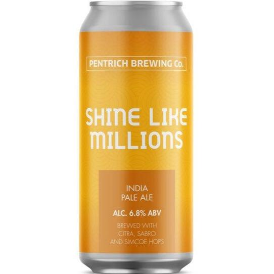 Pentrich Brewing Co Shine Like Millions IPA  440ml (6.8%)
