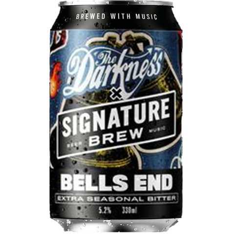Signature x The Darkness Collab - Bells End - Extra Seasonal Bitter 330ml (5.2%)