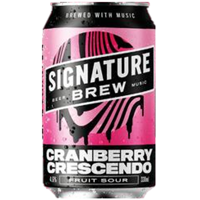 Signature Cranberry Crescendo Sour 330ml (4.6%)