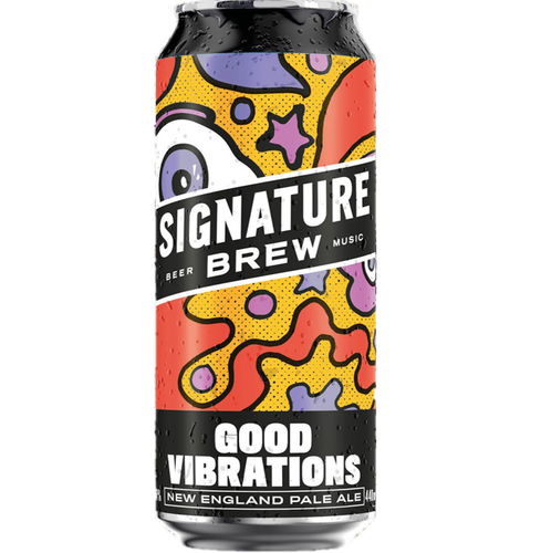 Signature Good Vibrations New England Pale Ale 440ml (5.2%)