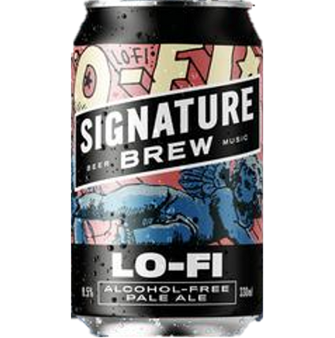 Signature Lo-Fi Alcohol Free Pale Ale 330ml (0.5%)