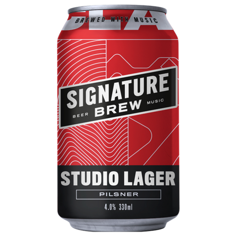 Signature Brew Studio Pilsner 330ml (4%)