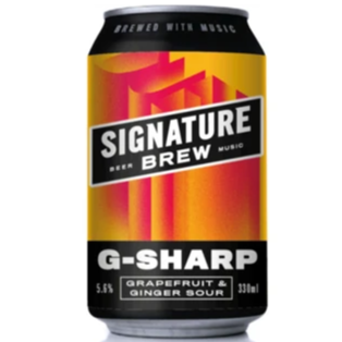 Signature G-Sharp - Grapefruit Sour 330ml (4.2%)