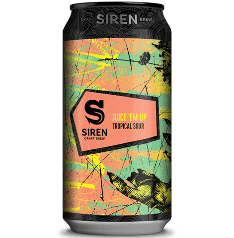 Siren Juice Em Up Tropical Sour 440ml (6.7%) - indiebeer