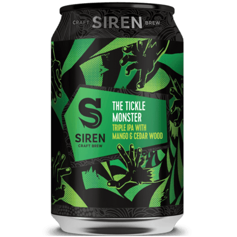 Siren The Tickle Monster Triple IPA with Mango and Cedar Wood 330ml (11%)