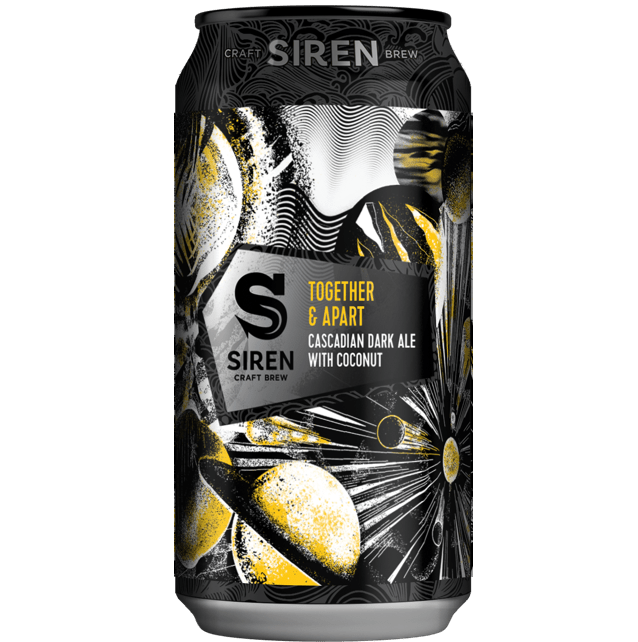 Siren Together And Apart: Cascadian Dark Ale with Coconut 440ml (6.2%)