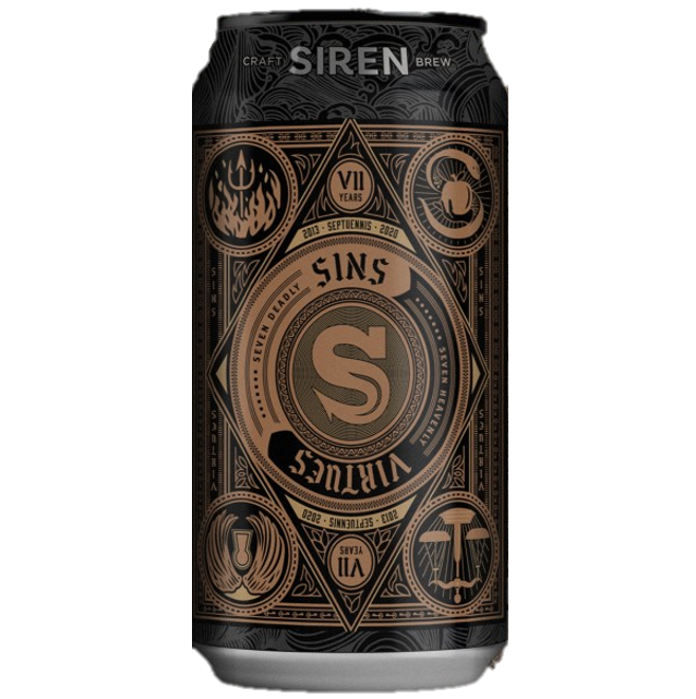 Siren Sins Apple Stout 440ml (6.6%)