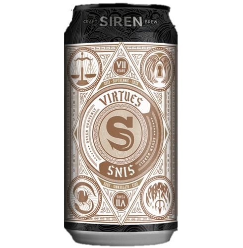 Siren Virtues Fruited IPA 440ml (7%)