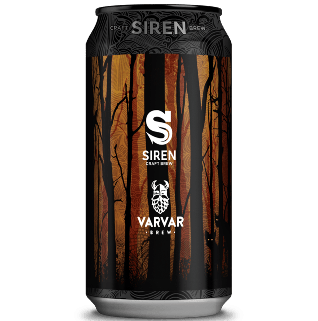 Siren x Varvar Collab. - Mavka Imperial Stout with Coconut & Coffee 440ml (11.4%)