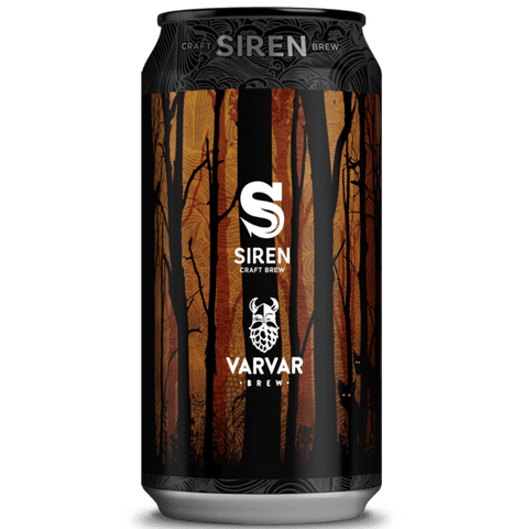 Siren x Varvar Collab. - Mavka Imperial Stout with Coconut & Coffee 440ml (11.4%) - indiebeer