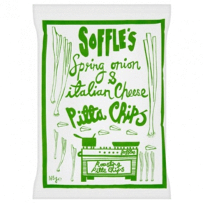 Soffles Spring Onion & Italian Cheese (60g) - indiebeer