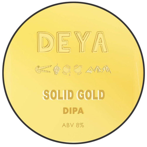 DEYA Solid Gold DIPA 500ml (8%) - 1 can limit