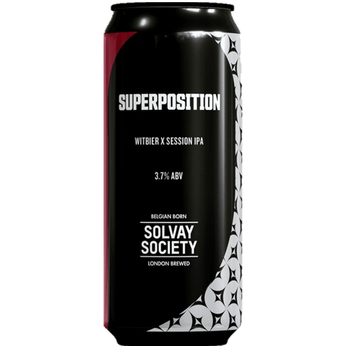 Solvay Society Superposition Witbier x Session IPA 440ml (3.7%) - indiebeer