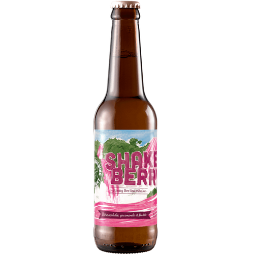 The Piggy Brewing Company Shake Berry Imperial Berliner Shake 330ml (7.5%)