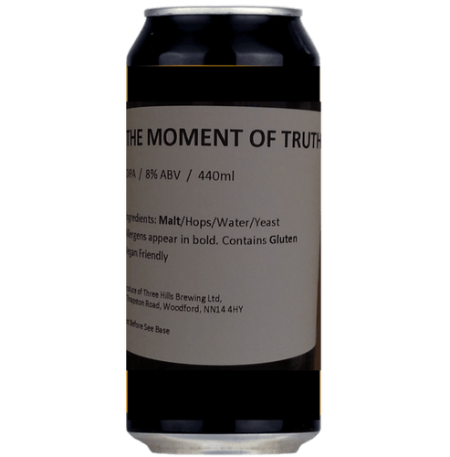 Three Hills The Moment Of Truth DIPA 440ml (8%)