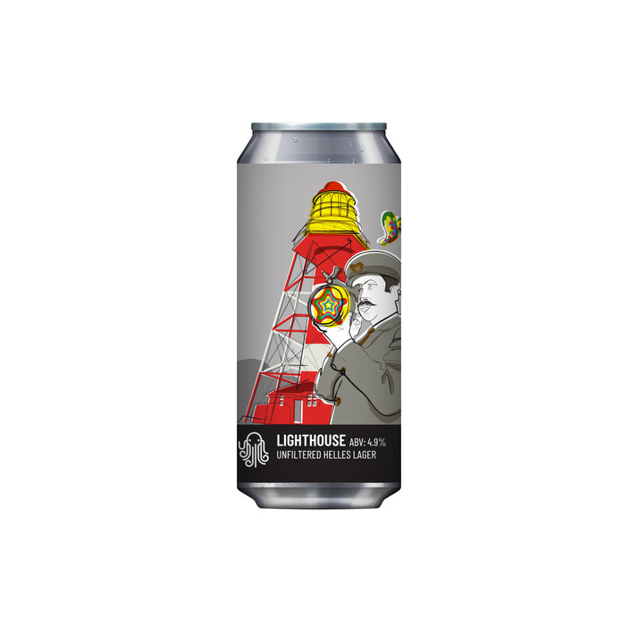 Time & Tide Lighthouse Lager 440ml (4.9%)