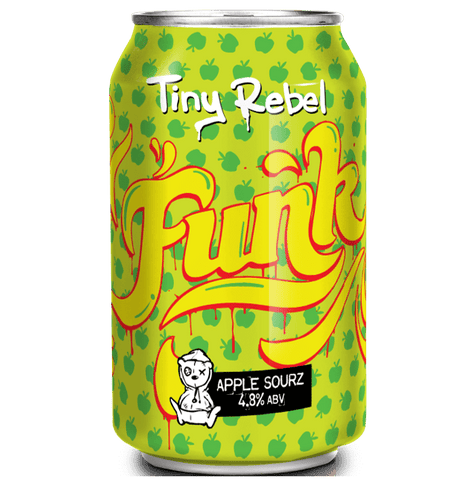 Tiny Rebel Funk Apple Sourz 330ml (4.8%) - indiebeer