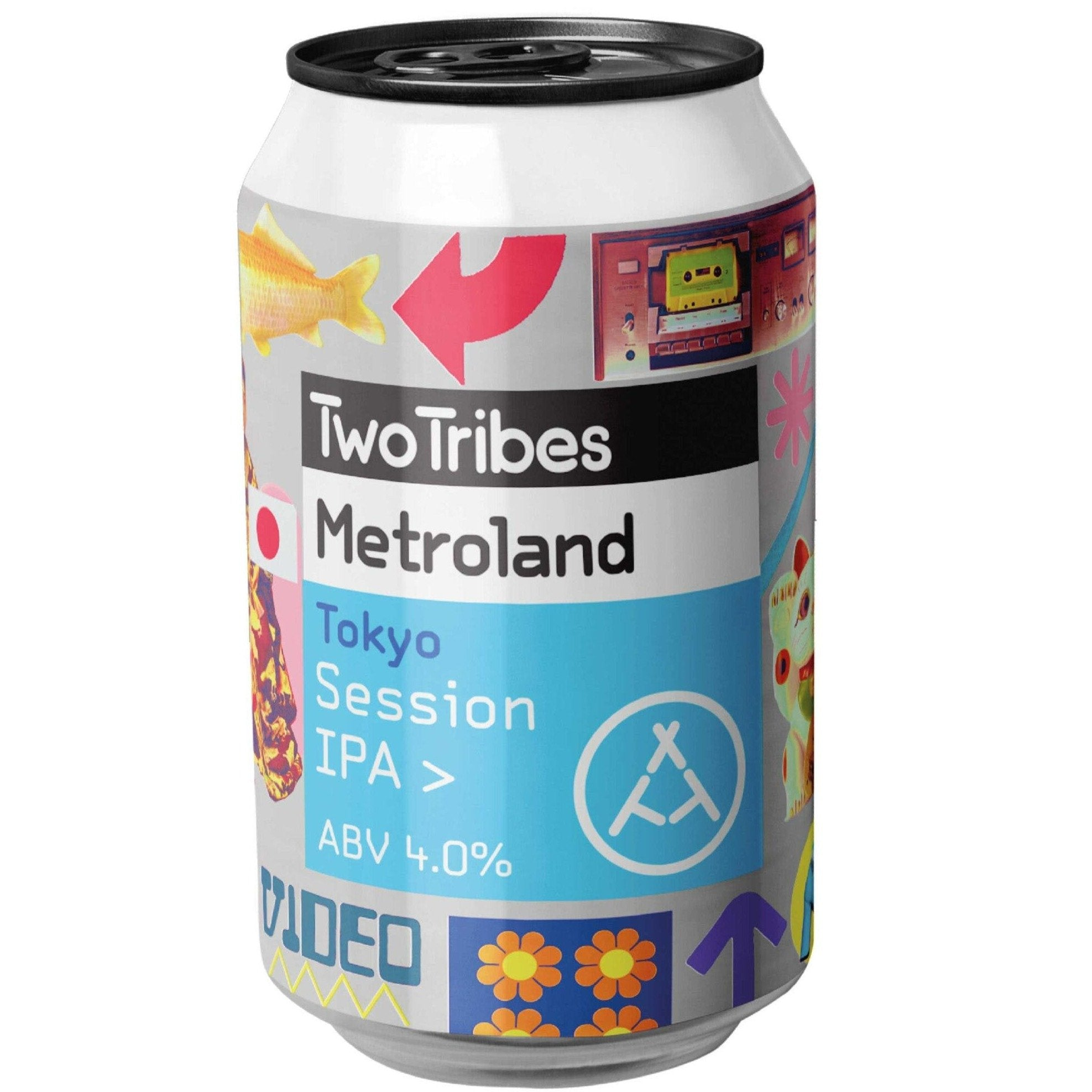 Two Tribes Metroland Tokyo Session IPA 330ml (4%)