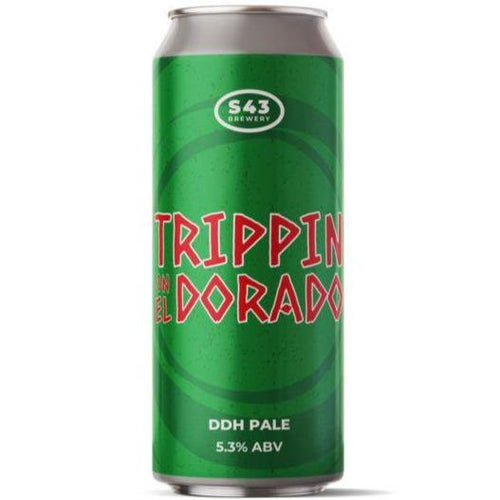 S43 Trippin on El Dorado DDH Pale Ale 440ml (5.3%)