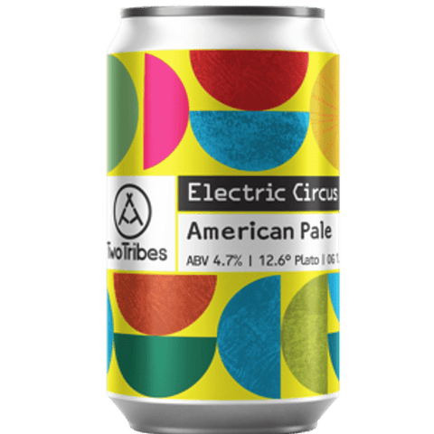 Two Tribes Electric Circus American Pale 330ml (4.7%) - indiebeer
