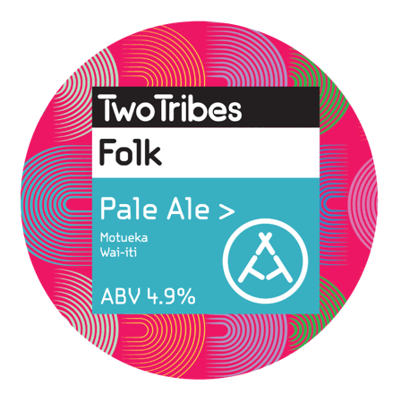 Two Tribes Folk Wai-iti Pale Ale 440ml (4.9%)