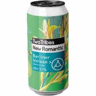 Two Tribes New Romantic Calamansi Lime Berliner Weisse 440ml (3.7%)