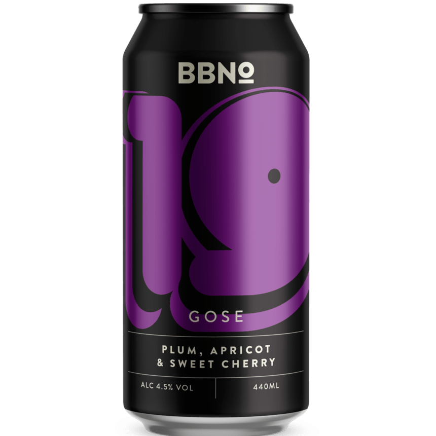 Brew By Numbers (BBNO) 19 - Gose - Plum Apricot & Sweet Cherry Sour 440ml (4.5%)