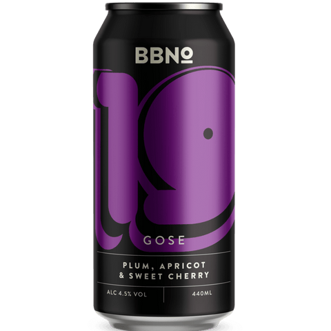 Brew By Numbers (BBNO) 19 - Gose - Plum Apricot & Sweet Cherry Sour 440ml (4.5%) - indiebeer