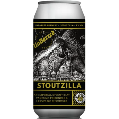 Unbarred Stoutzilla Imperial Stout 440ml (9.3%)
