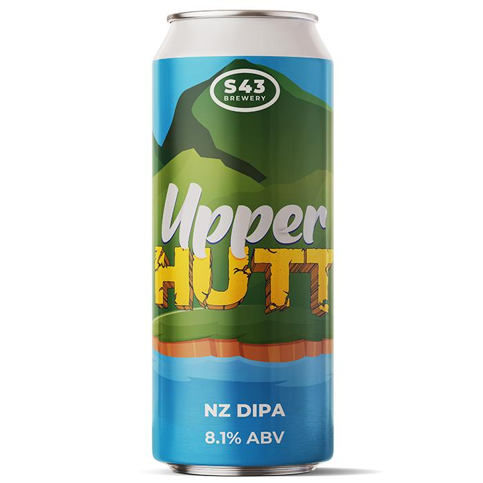 S43 Upper Hutt New Zealand DIPA 440ml (8.1%)
