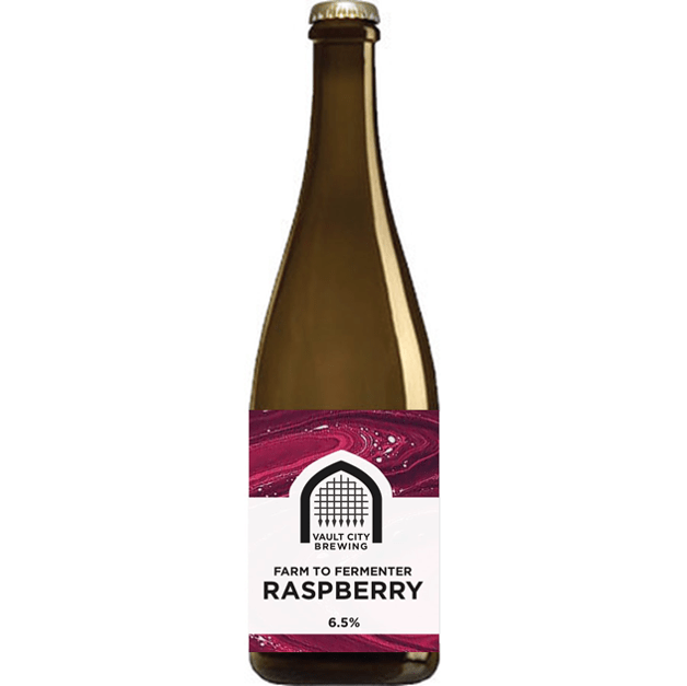 Vault City Farm to Fermenter: Raspberry Sour 375ml (6.5%)