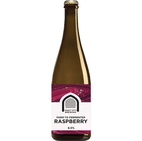 Vault City Farm to Fermenter: Raspberry Sour 375ml (6.5%) - indiebeer