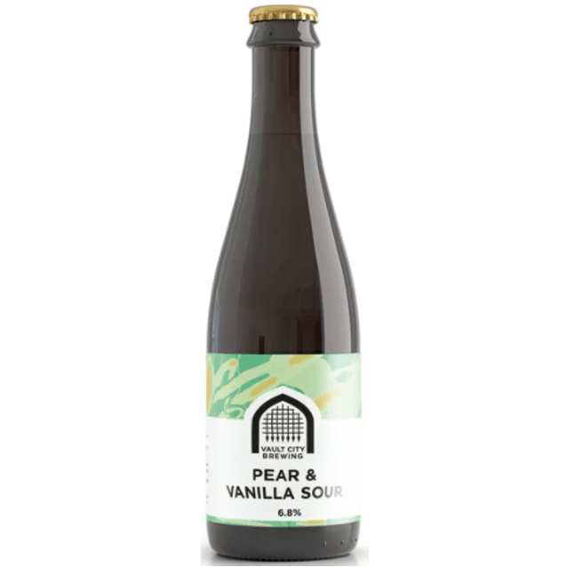 Vault City Pear & Vanilla Sour 375ml (6.8%)