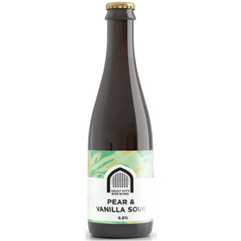 Vault City Pear & Vanilla Sour 375ml (6.8%) - indiebeer