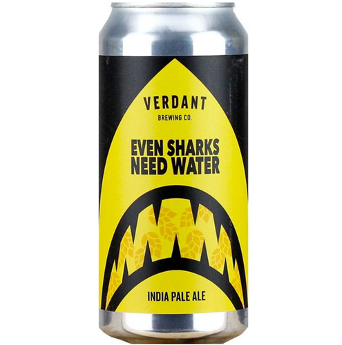 Verdant Even Sharks Need Water IPA 440ml (6.5%)