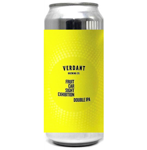 Verdant Fruit Car Sight Exhibition Double IPA 440ml (8%)
