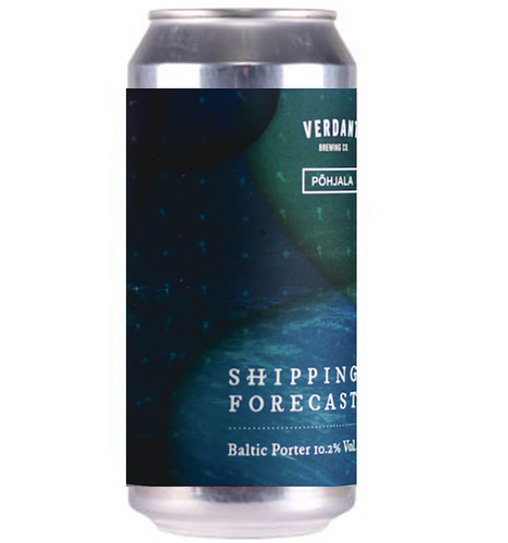 Verdant x Pohjala Collab Shipping Forecast Imperial Stout 440ml (10.2%)