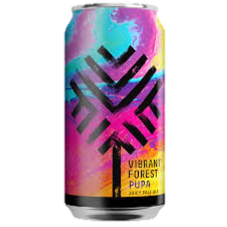 Vibrant Forest Pupa - New England Pale Ale 440ml (4.5%)