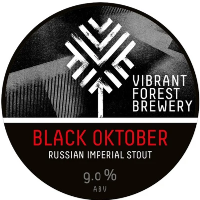 Vibrant Forest Black Oktober Stout 330ml (9%)