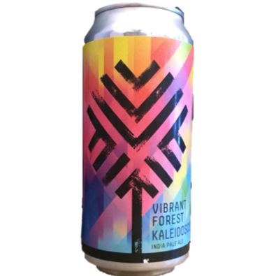 Vibrant Forest Kaleidoscope West Coast IPA 440ml (6.5%)